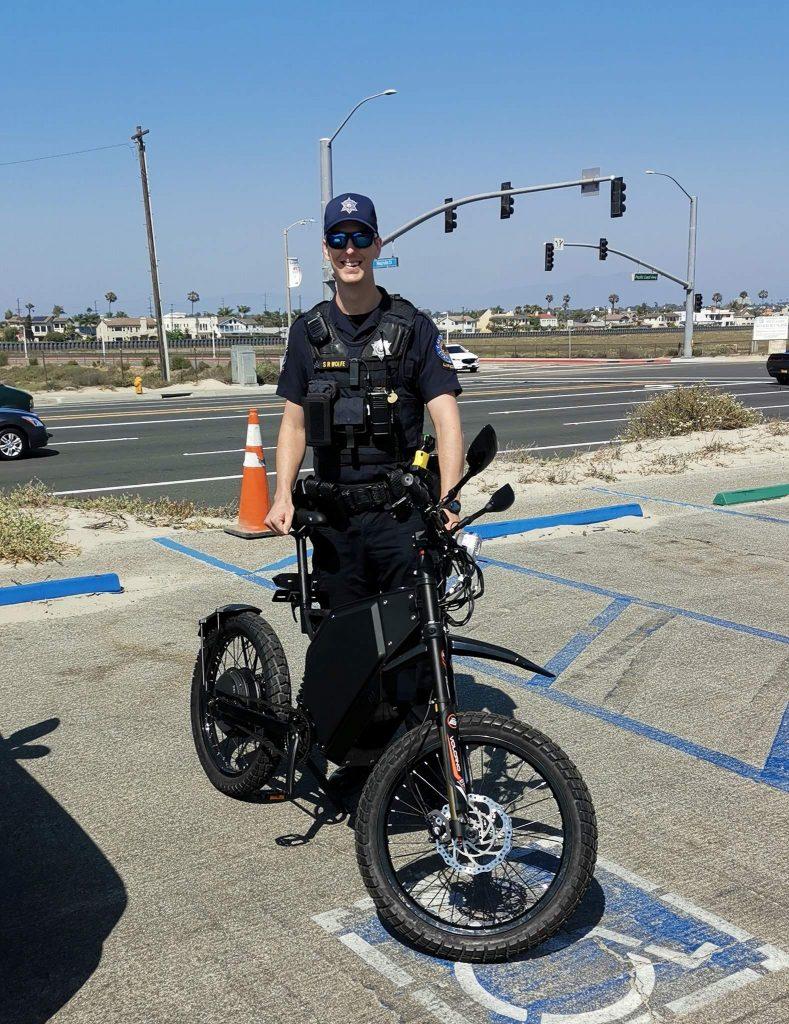Поліція Каліфорнії тестує українські електровелосипеди DelFast