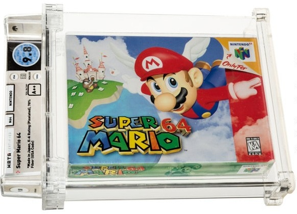 Раритетну відеогру Super Mario продали за півтора мільйона доларів