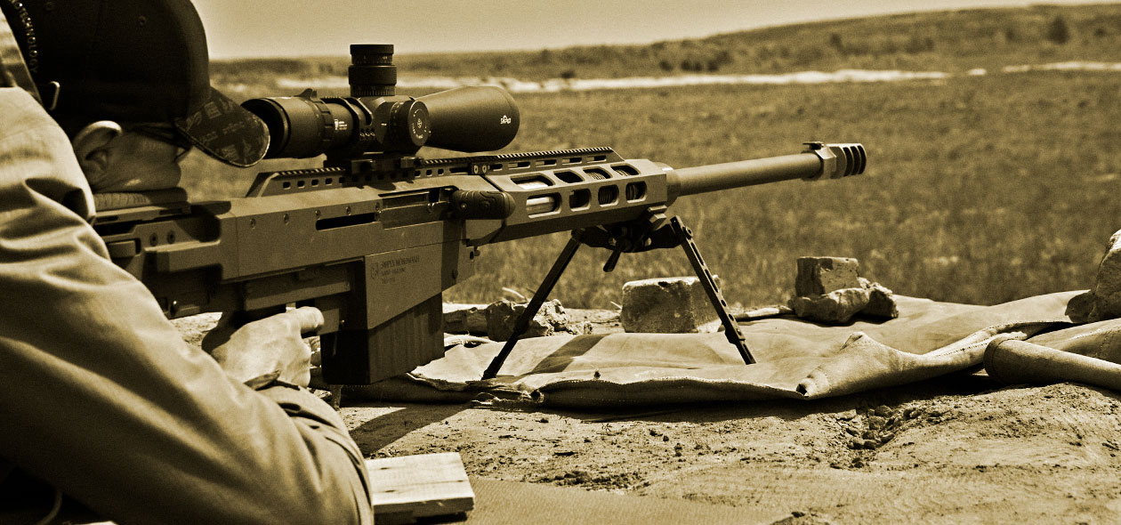 В Украине испытывают винтовку Monomakh, которая стреляет на 2 километра. Фото