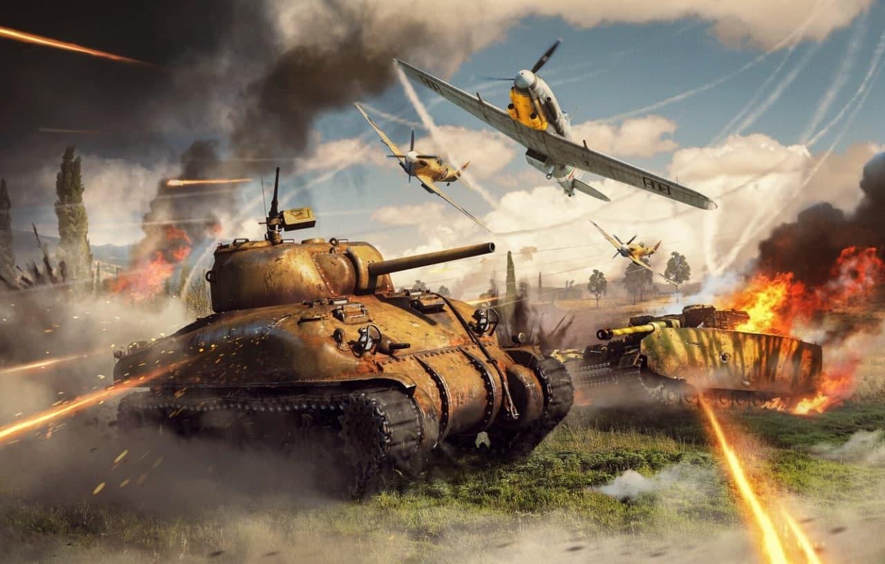 Пополнение онлайн-игры War Thunder доступно с бонусом 10% до 31.08.2021