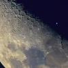 Астронавт МКС показал необычное фото Луны