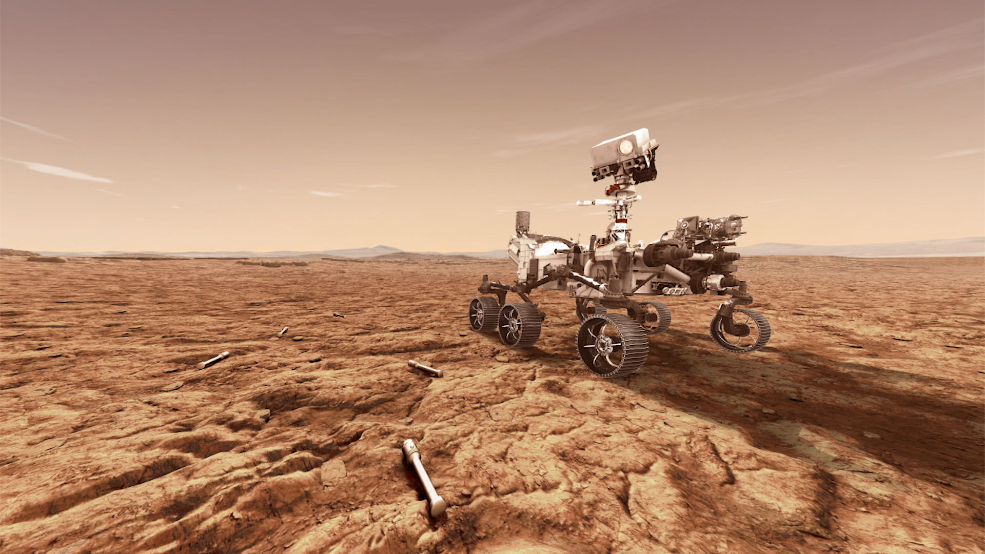 Марсоход NASA начинает поиски признаков жизни на Марсе
