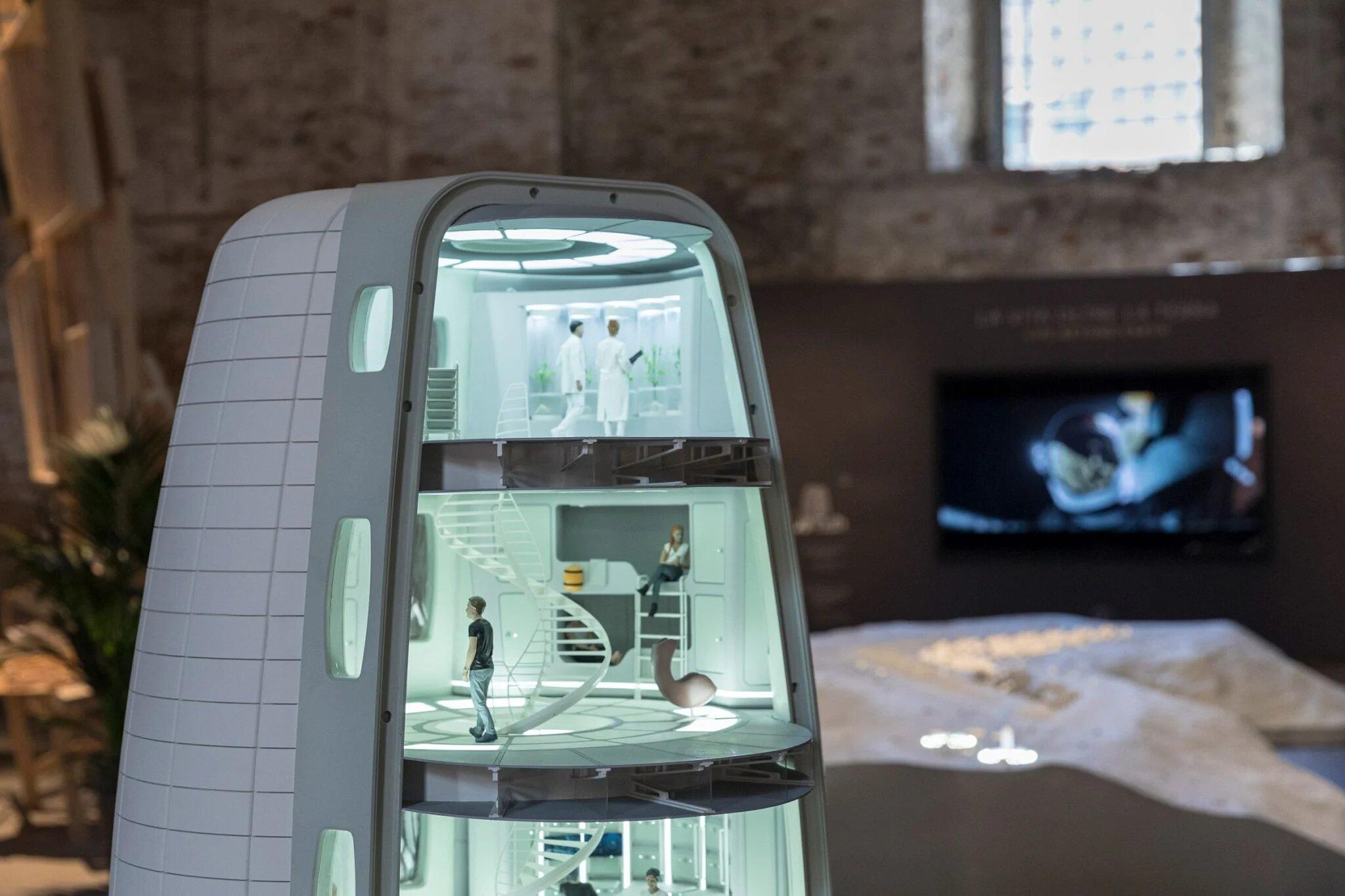 Європейське космічне агентство показало концепт поселення на Місяці з надувними будівлями