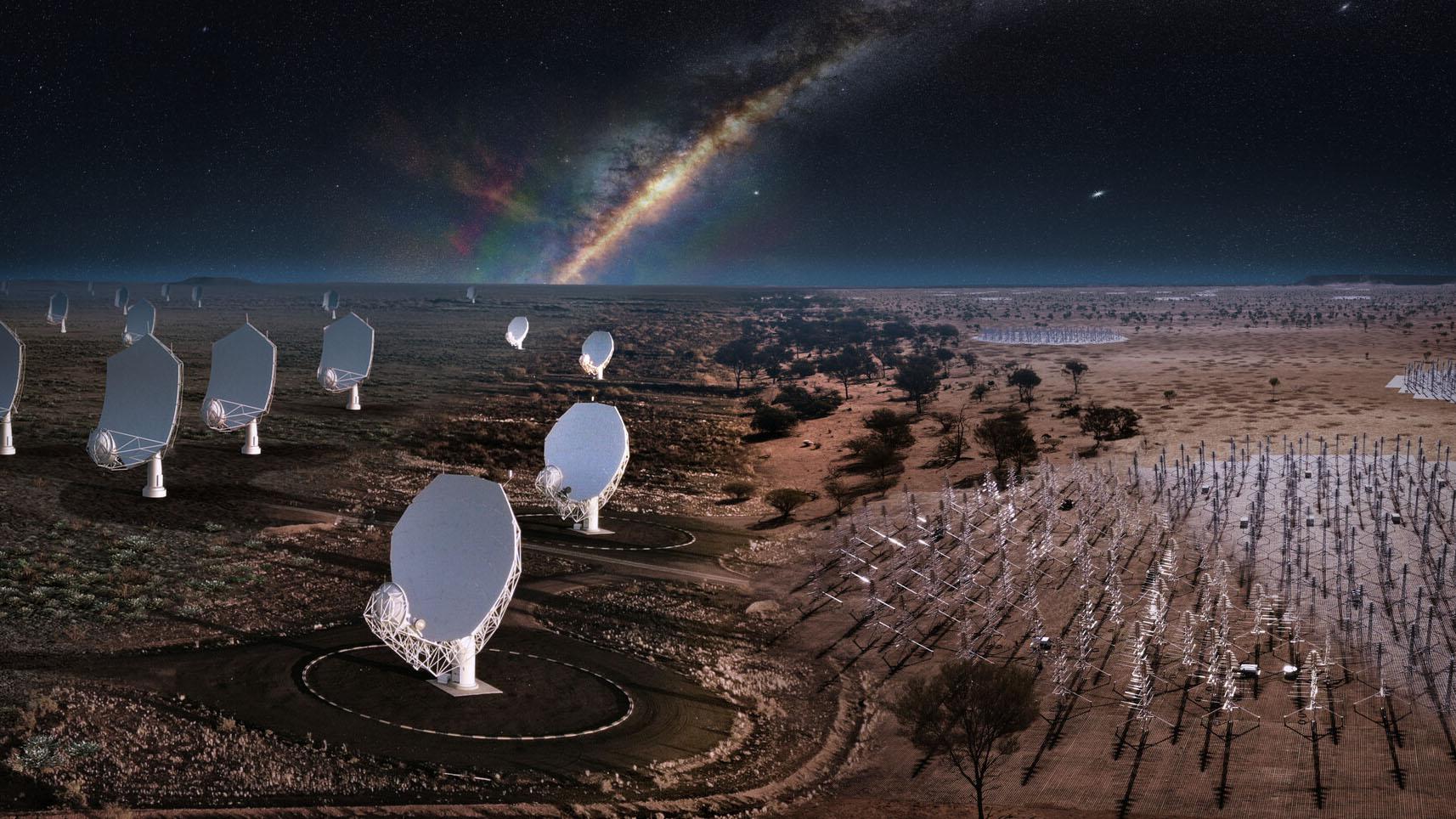 Стартовало строительство самого чувствительного телескопа в истории