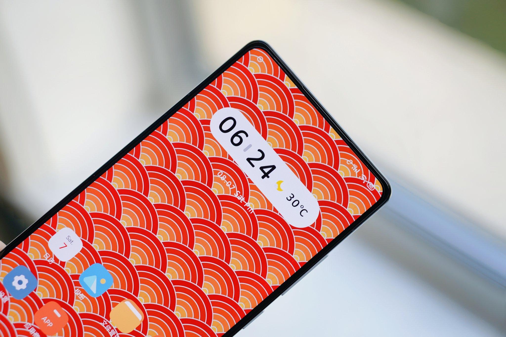 Xiaomi показала новий смартфон з підекранною камерою