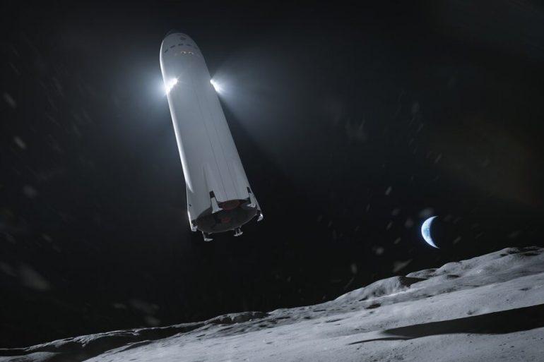 В США разблокировали контракт NASA и SpaceX по созданию модуля на Луне