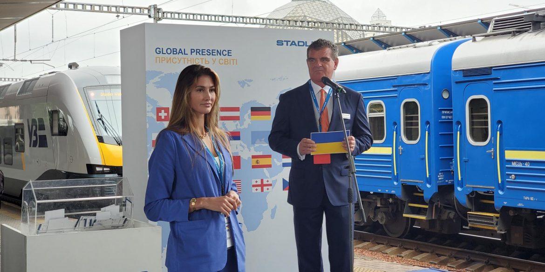 Швейцарія виділить Україні 500 млн євро на розвиток «Укрзалізниці» та будівництво заводу