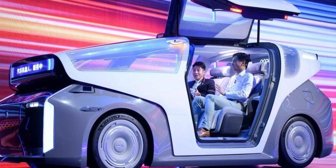 Baidu представив свій перший електрокар з автопілотом