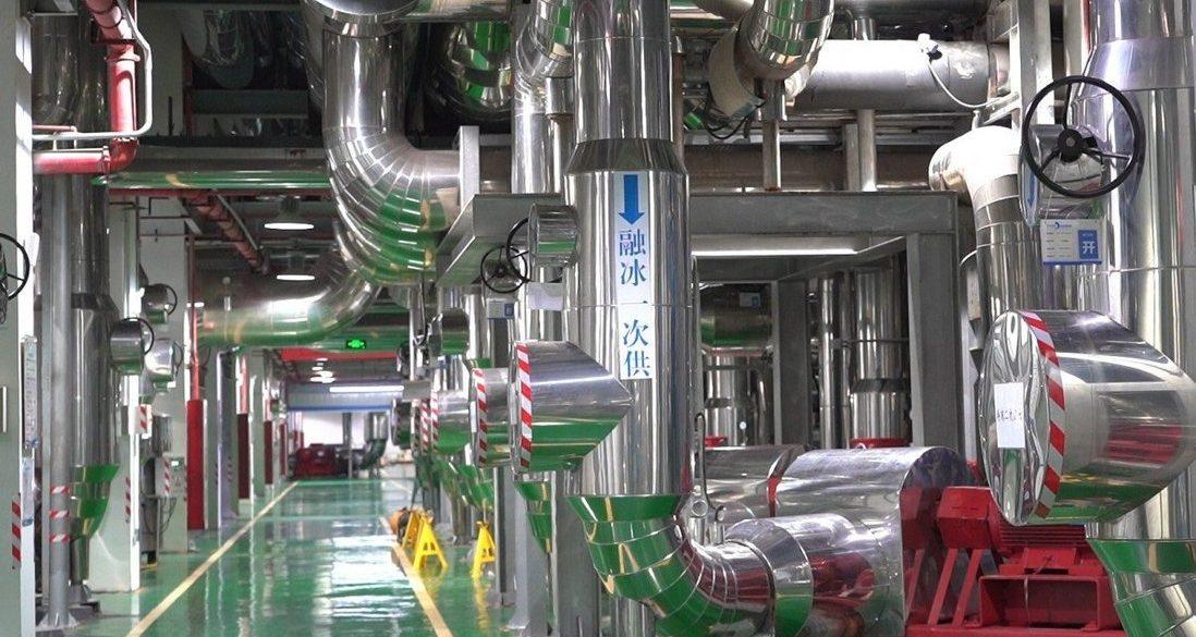 У Китаї побудували гігантський кондиціонер для охолодження цілого міста