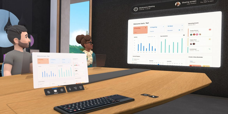 Facebook запустив сервіс відеоконференцій у віртуальній реальності - Horizon Workrooms