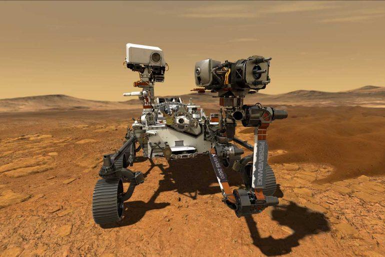 Марсоходу Perseverance не вдалося взяти зразок грунту Марса з першого разу