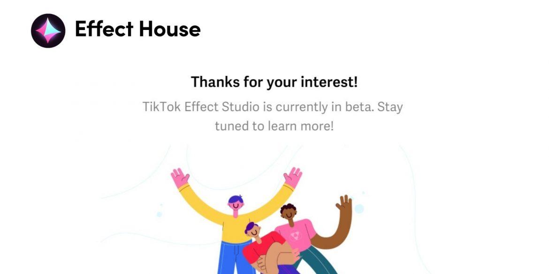 TikTok тестує платформу доповненої реальності Effect Studio