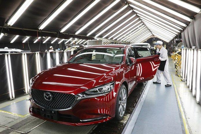 Mazda зупинила роботу заводів у Японії через збій поставок комплектуючих з Китаю