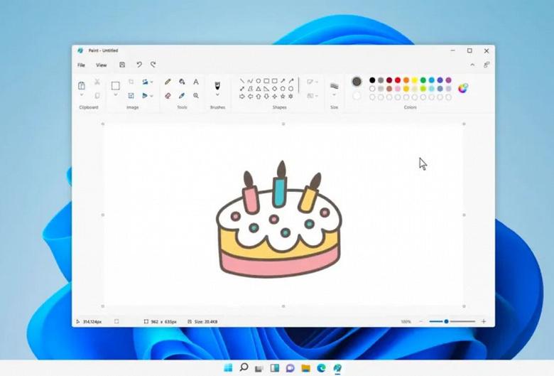 Microsoft представив оновлений Paint для Windows 11