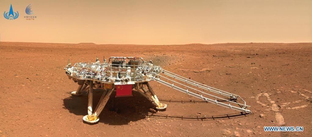 Що встиг зробити китайський марсохід за 100 днів на Марсі