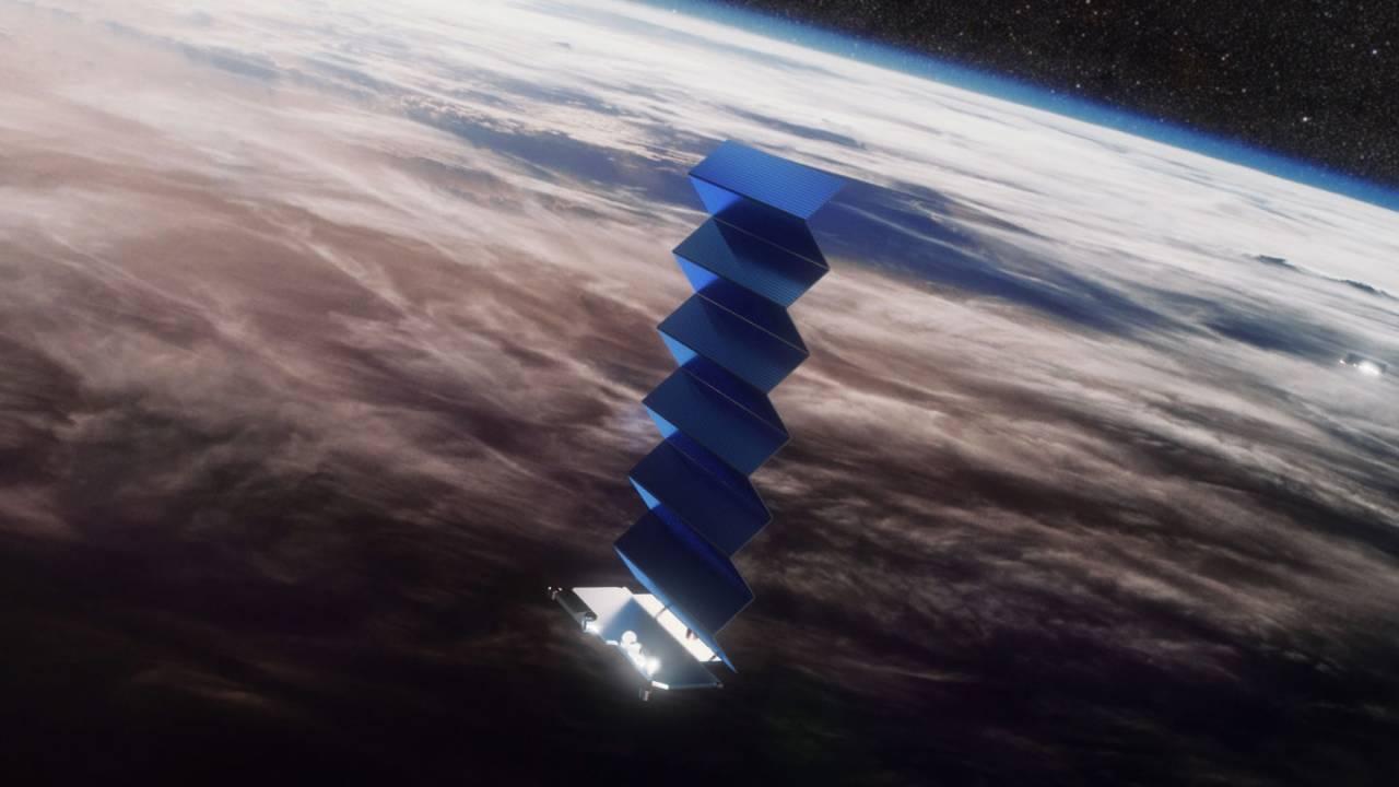 Интернет-спутники Starlink интегрируют с лазерными системами