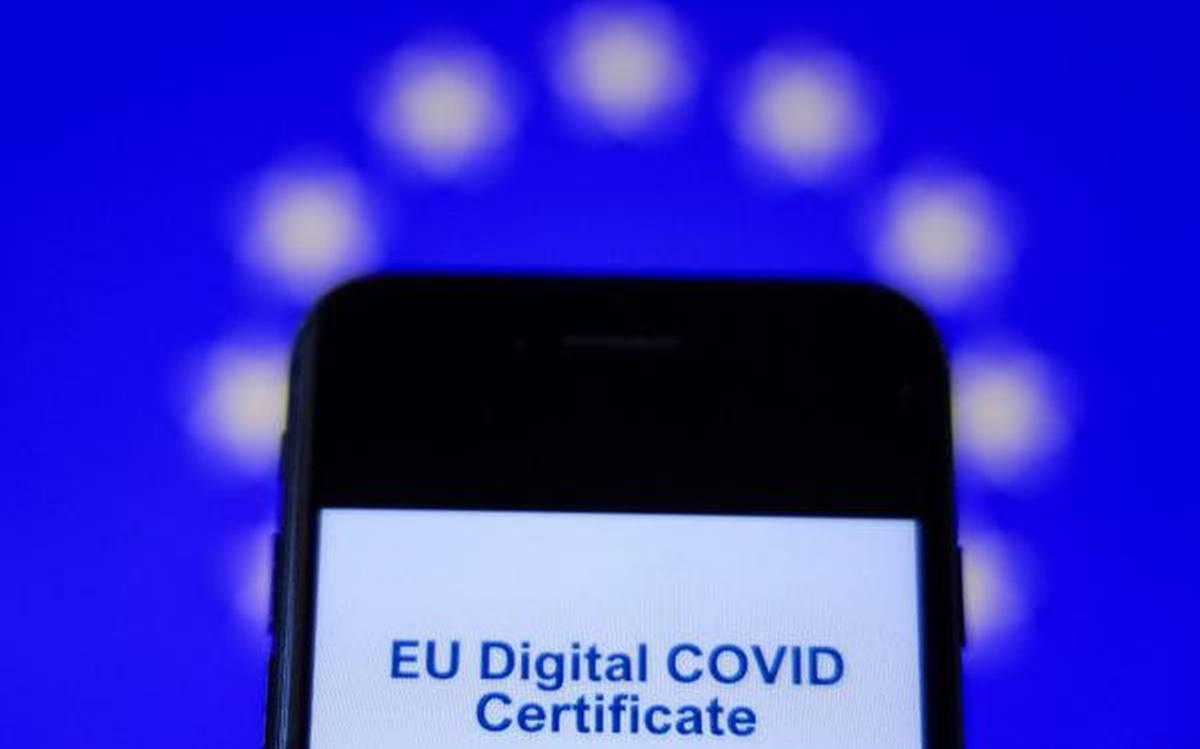 Украинские цифровые COVID-сертификаты прошли техническую проверку в ЕС