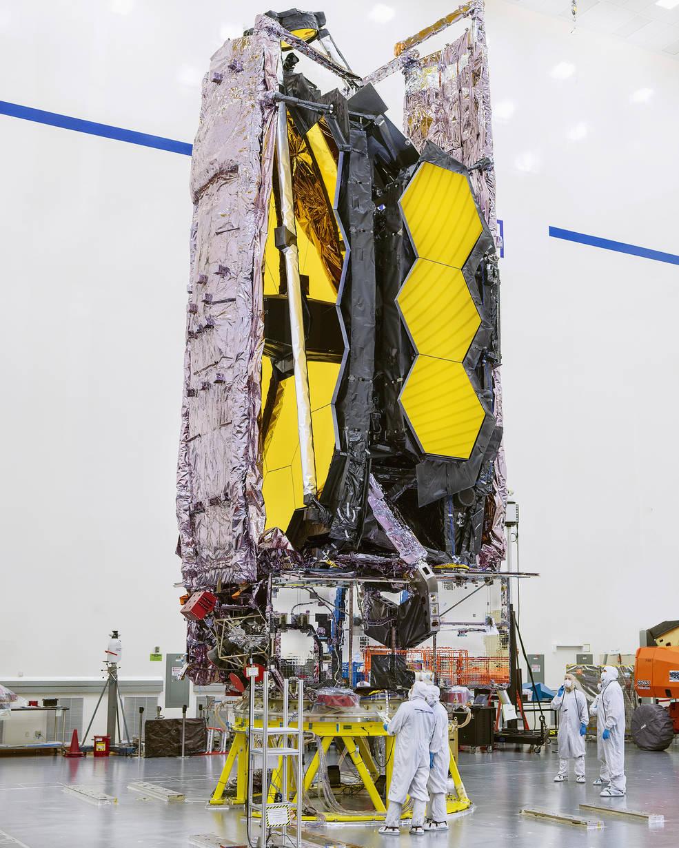 Телескоп, який замінить Хаббл, завершив фінальні випробування