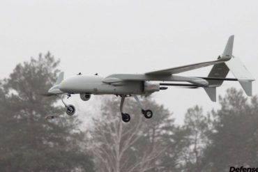 Українська компанія представила новітню систему з розвідувального безпілотника та дрона-камікадзе