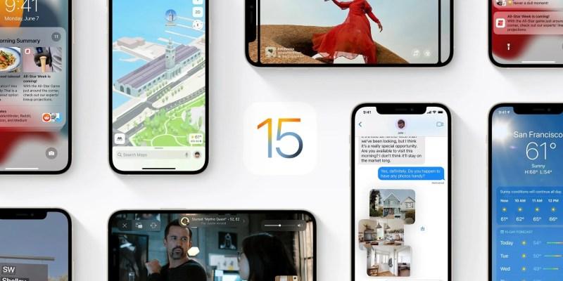Apple оголосила дату релізу операційної системи iOS 15