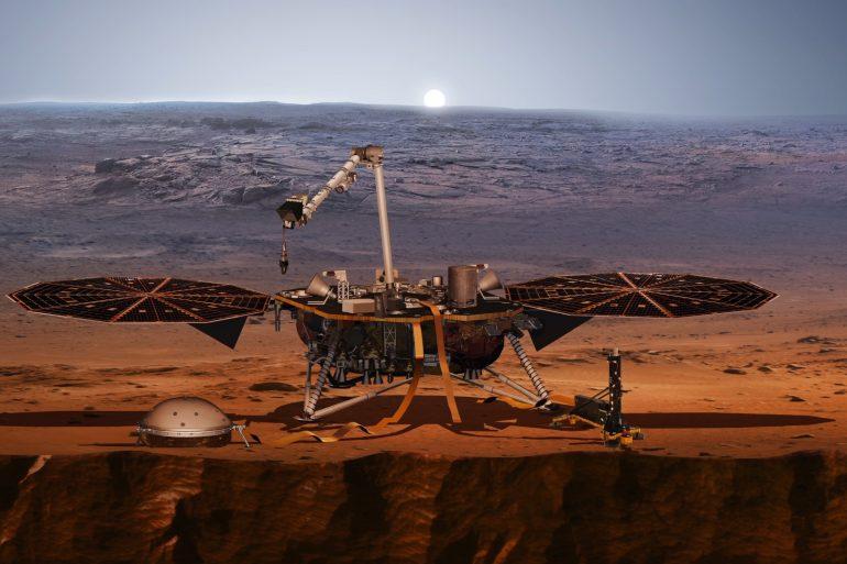 Апарат NASA зафіксував на Марсі 3 землетруси за місяць