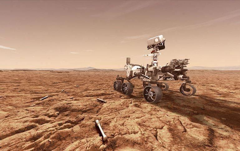 Марсохід Perseverance добув перші зразки грунту Марса
