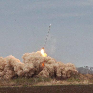 Минобороны показало видео стрельб модернизированного ракетного комплекса «Ольха-М»