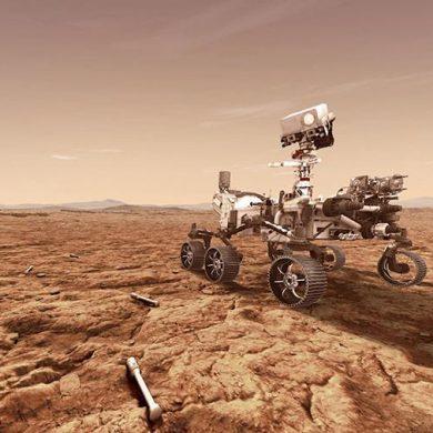 NASA опубликовало звуки Марса, записанные ровером Perseverance
