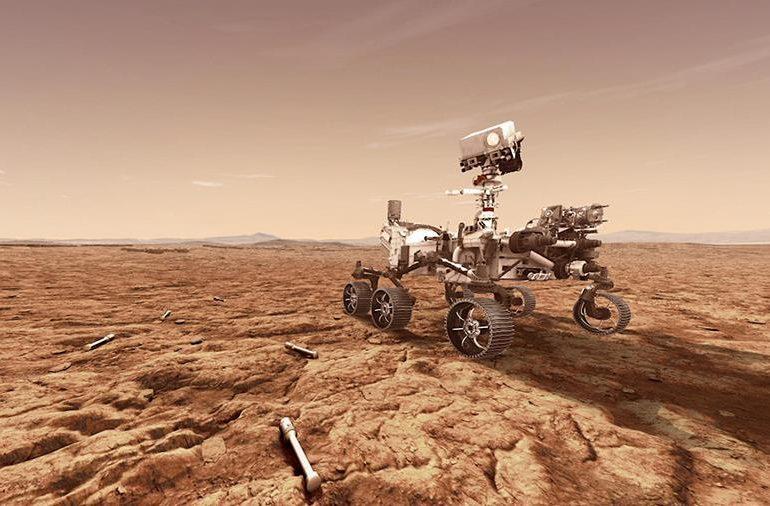 Марсохід Perseverance призупинив роботу до середини жовтня