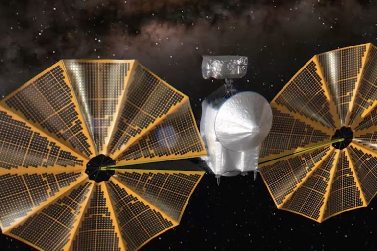 NASA виявило проблеми із апаратом для дослідження астероїдів Юпітера