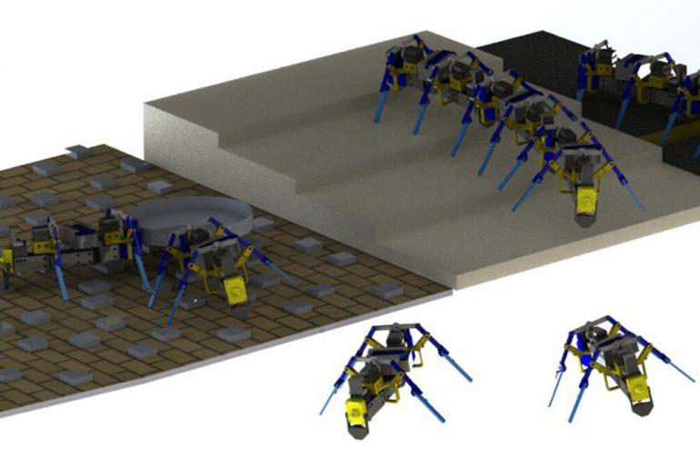 У США надрукували мікророботів, які можуть пересуватись у зграях