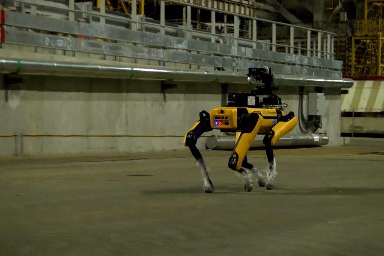 Роботи Boston Dynamics допомогли скласти карти радіації у Чорнобильській АЕС