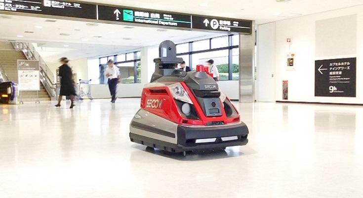 Аеропорт в Японії буде патрулювати безпілотний робот
